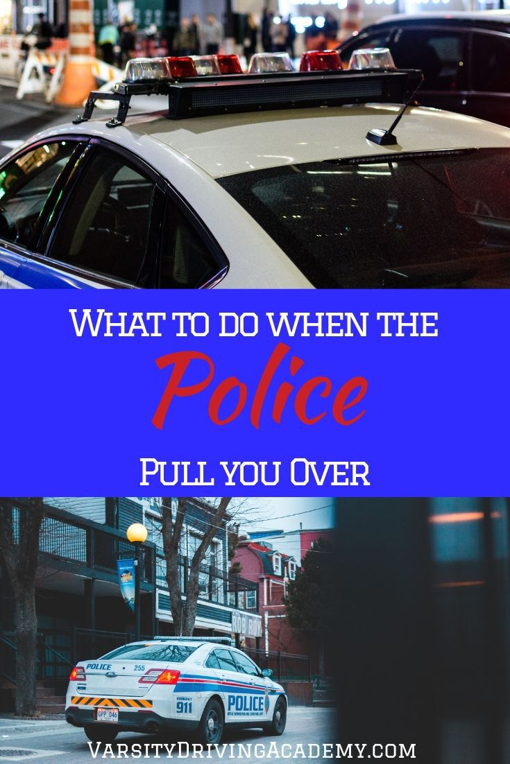 It is important that everyone knows what to do when pulled over by the police while driving to make things go easier for you and the officer.