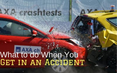 What to do When You Get in an Accident