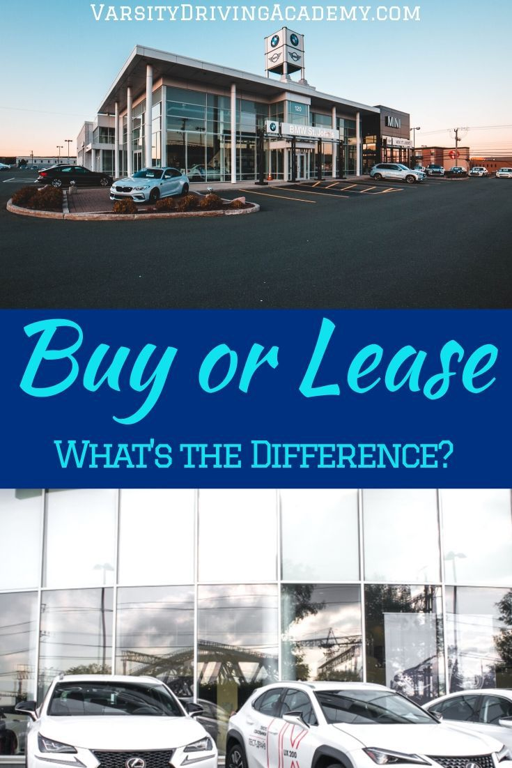 The difference between leasing and buying a car can be a very big difference but either way, you will end up with a new car.