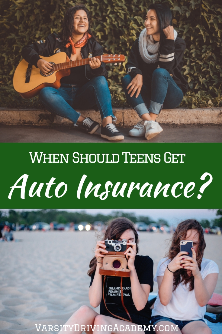 When should teens get their own auto insurance? Many different things can help determine the answer to this question.