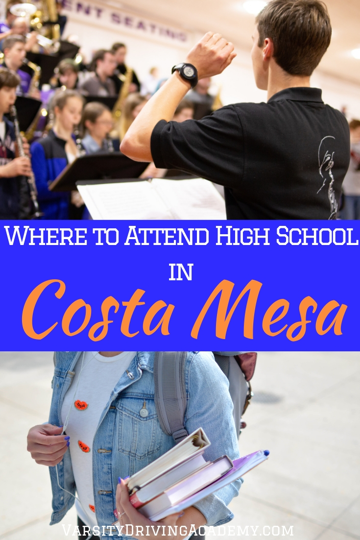 Wondering where to attend high school in Costa Mesa? There are two options and one of them will apply to you and your family.