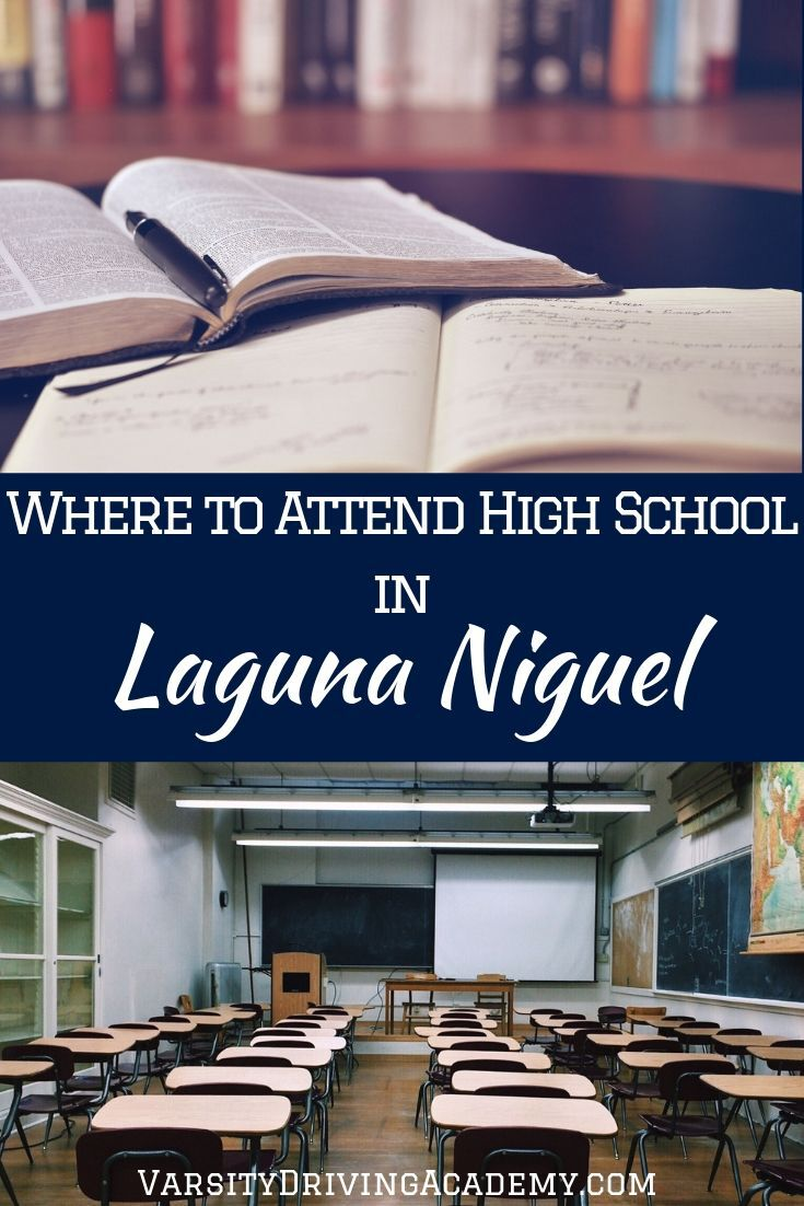 There are high school attendance options in Laguna Niguel, just not physically inside the city borders of Laguna Niguel, California.