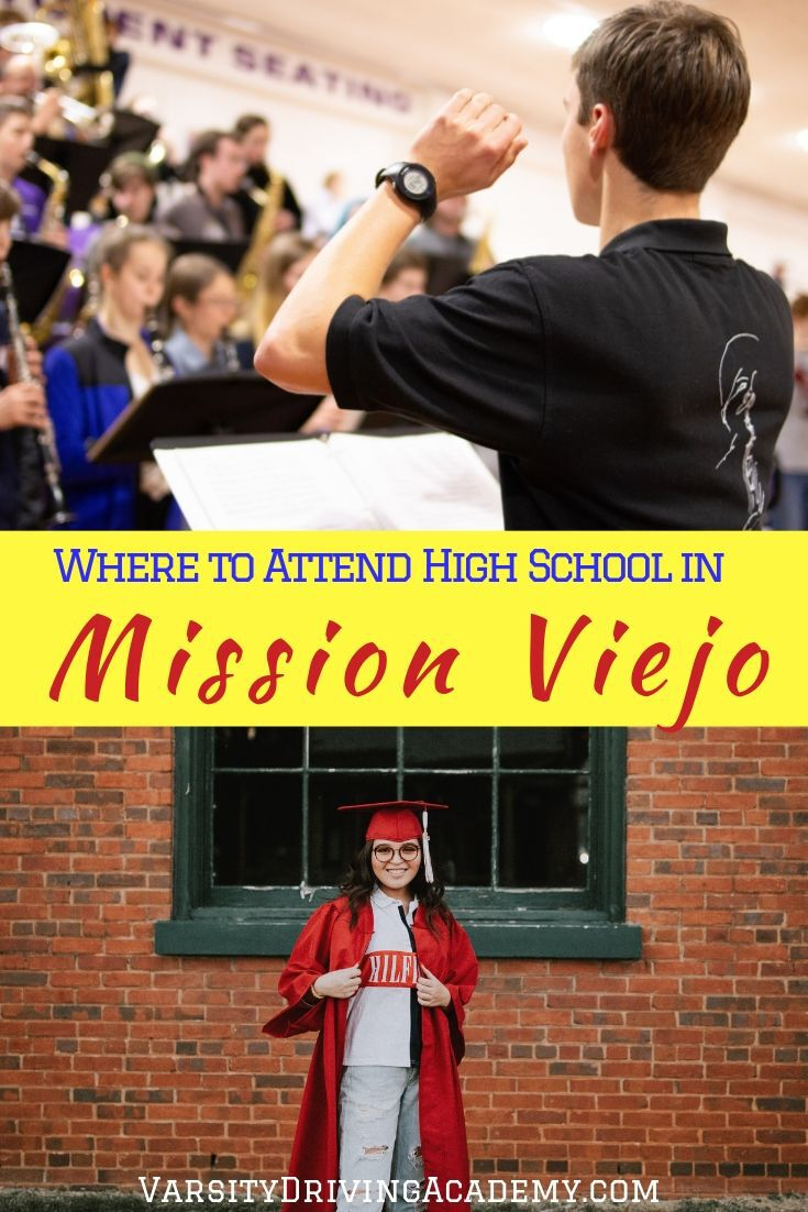 If you're wondering where to attend high school in Mission Viejo, the answer is simple and determined by where your house is located.