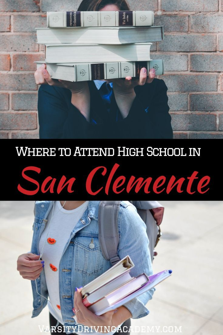 You don't need to wonder where to attend high school in San Clemente anymore. Especially since the answer is simple and not surprising.