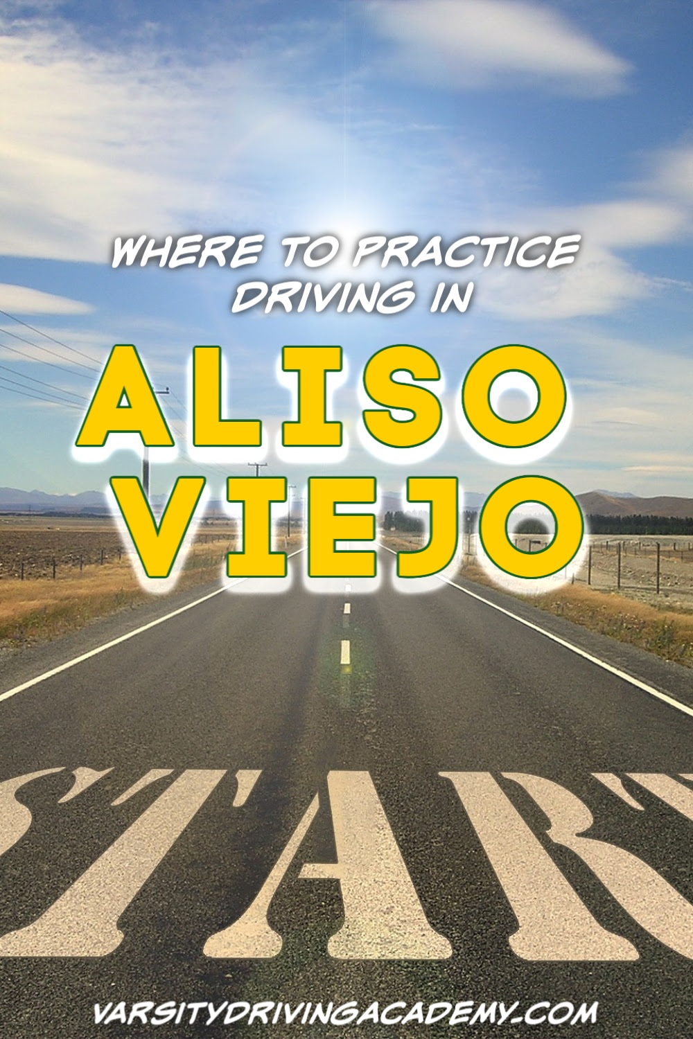 You can practice driving locally by knowing where to practice driving in Aliso Viejo and then put your skills to the test before your final test.