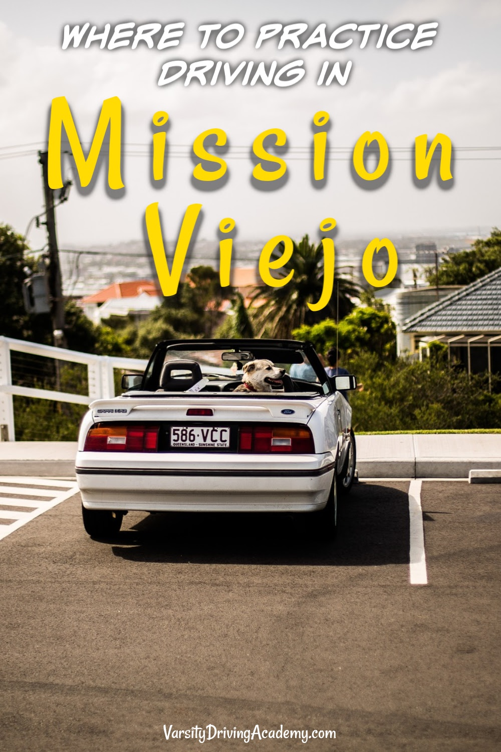Teens and adults will need to know where to practice driving in Mission Viejo if they want to practice in a safe location.