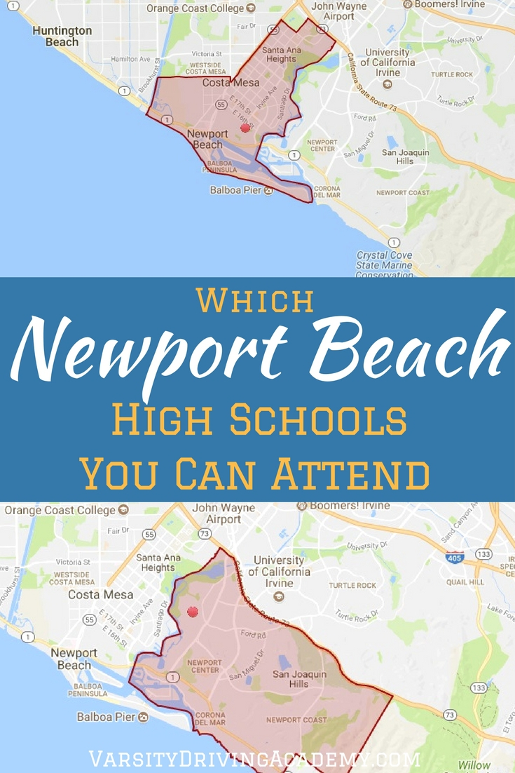 There are two Newport Beach high school options to choose from for the residents of the area, but which one can you attend?
