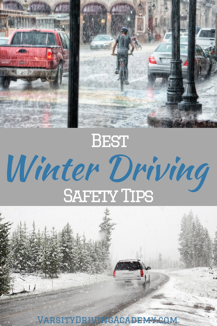 Winter driving safety tips are meant to cover the many different weather patterns that affect the roadways during the winter months and will keep you safe.