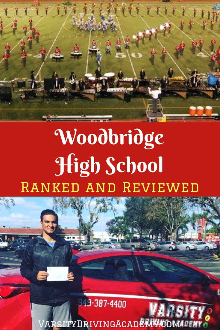 Great! Schools is a nonprofit organization that ranks schools to help parents make a decision and Woodbridge High School has ranked well.