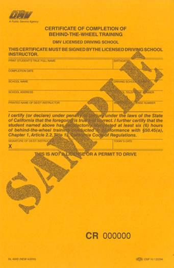 Parent Information For VDA Driving School