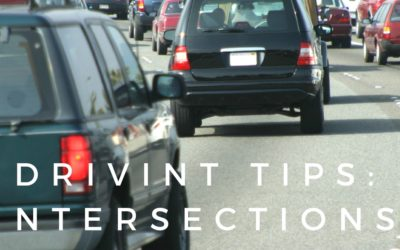 Intersections Drivers Ed Tips
